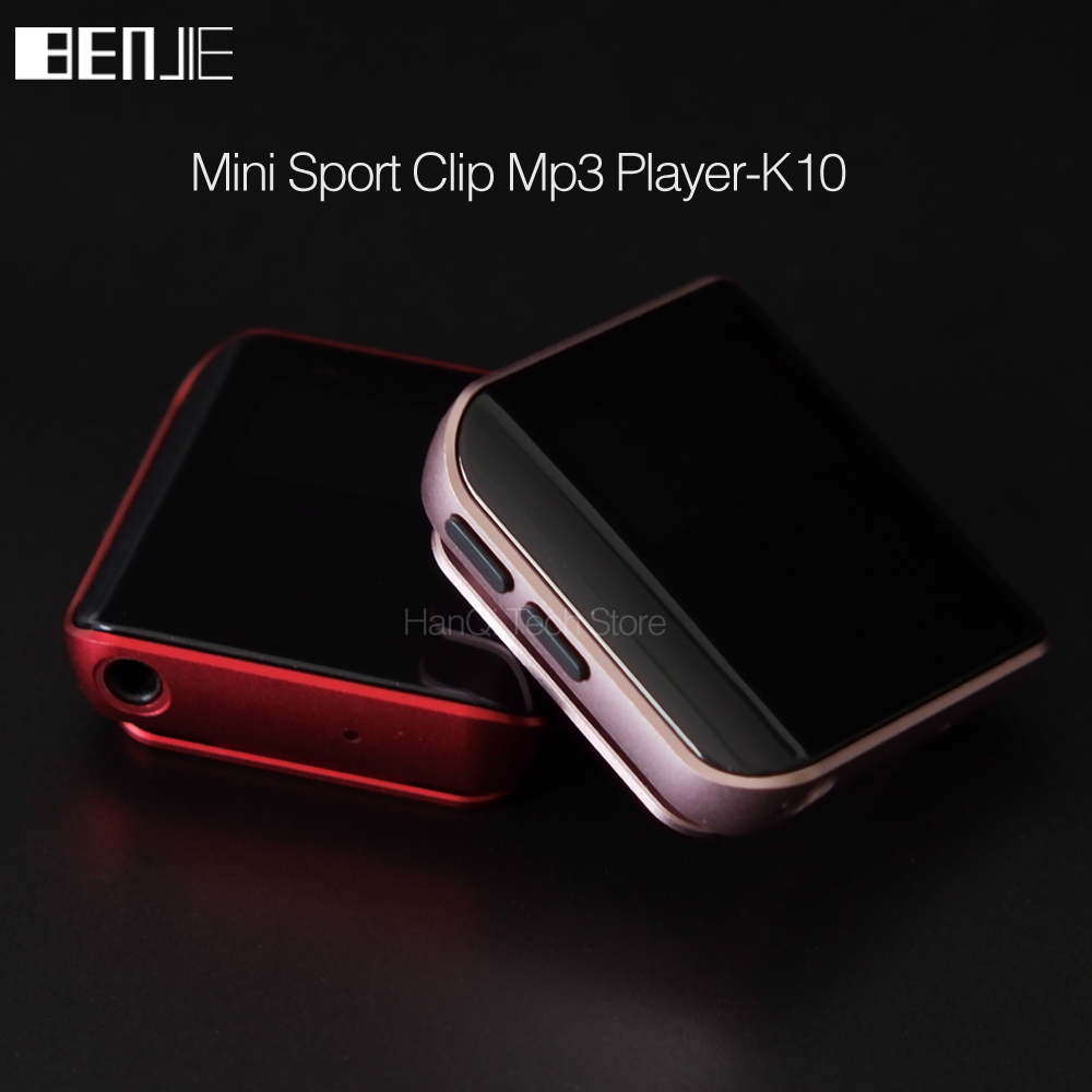 New Original Benjie K10 Mini Clip MP3 Player Portable 8G Sports MP3 Music Player High Sound Quality Lossless Player With FM image