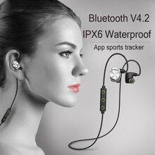 Mifo U6 Wireless Bluetooth 4.2 Headset Stereo IPX6 Waterproof Earphone Wireless Earbuds Sport Running For Iphone xiaomi