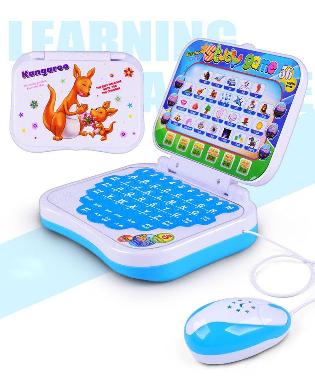 Новое поступление 2017 года многофункциональные развивающие Обучающая машина Английский раннее Планшеты компьютер игрушки малыша + Мышь ...
