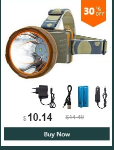 High Quality headlight rechargeable