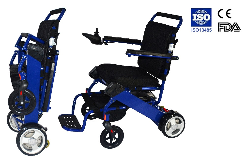 Folding Lightweight Power Wheelchair Factory In Electric