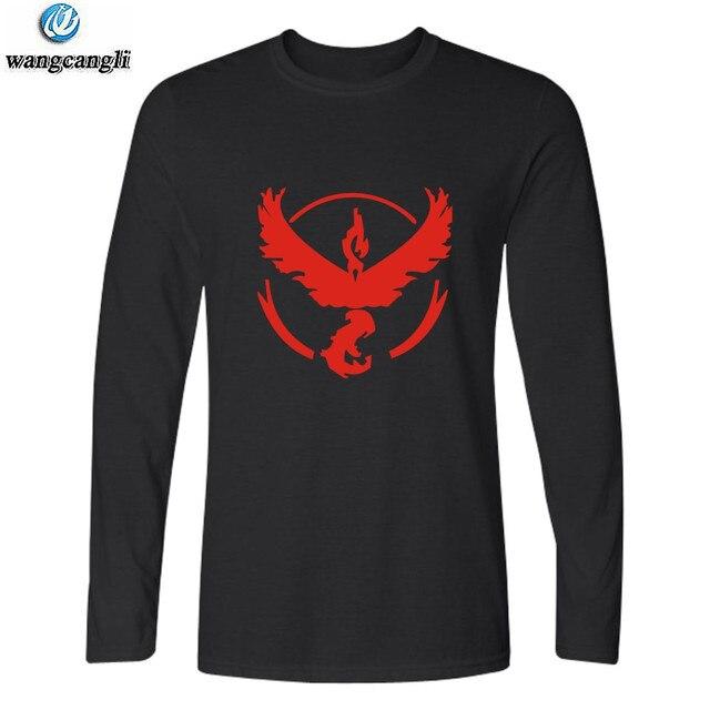 cc768b560414f Pokemon go plus tamaño camiseta pokemon vaya equipo Valor místico instinto  t camiseta pokemon go de