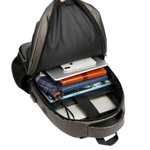 Image 4 - Shellnail Waterproof Laptop Bag Backpack 15.6 17.3 inch Notebook Bag 15 17 inch Computer Bag USB for Macbook Air Pro Dell HP Bag