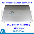99% nueva Asamblea de pantalla LCD para Apple MacBook Pro 15 Retina A1398 mediados 2012 MC975 MC976 temprano 2013 EMC 2673 661-6529 661-7171