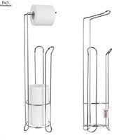 2016 New Stainless Steel Toilet Paper Roll Stand Holder Bathroom Storage Rack Tissue Organizer Toilet Accessories