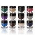 Profissional 12 pcs Flor Eye Gel Creme Mineral Brilho Metálico Cor Paleta de Sombra Shimmer Blush Em Creme Highlighter