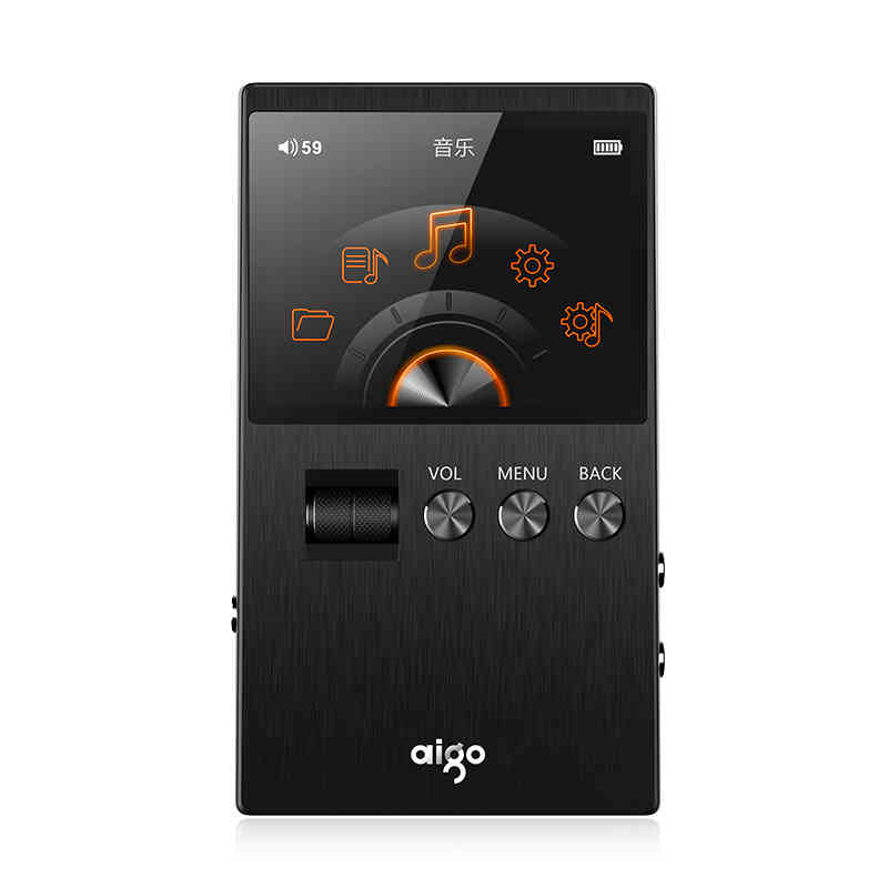 Original Aigo M6 DSD64 Lossless Music Player Professional Portable HIFI 32G Mp3 Player With OLED Screen*Support WMA APE FLAC WAV