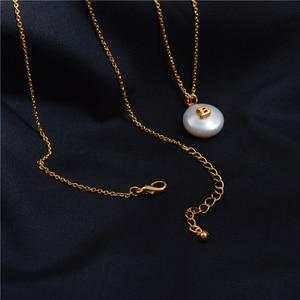 Image 2 - Barocke Perle Brief Halskette Weibliche Flut Tropfen Europäischen und Amerikanischen Erweiterte Sinn Französisch Revolutionäre Schlüsselbein