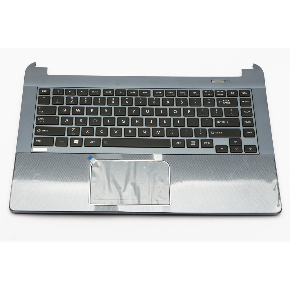 K000140420 Genuine New Top Cover Palmrest Blue AP0T7000410 w/ US Keyboard Black & TouchPad Assy for Toshiba Satellite U900K000140420 Genuine New Top Cover Palmrest Blue AP0T7000410 w/ US Keyboard Black & TouchPad Assy for Toshiba Satellite U900