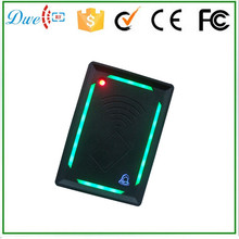 Green light door bell 10cm proximity range rfid gate reader for tcp/ip access control system