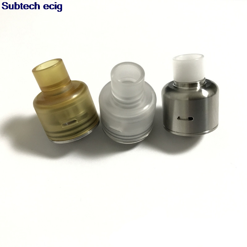 New Soul S RDA 22mm Atomizer SS / PC / PEI Sleeve Squonk BF Pin Perfect Quality Soul RDA E-cigarette Vape Tank Free Shipping