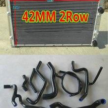 Алюминий радиатор+ силиконовый шланг для 1994-1998 Volkswagen Mk3 GT-I VR6 1 ч 1E 2.8LV6 MT AAA комплект 94 95 96 97 98