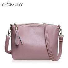 CHISPAULO 2016 Women Messenger Bags New Soft PU Leather Crossbody Handbag Girls Fashion Solid Bags Small Square Package Bolsas