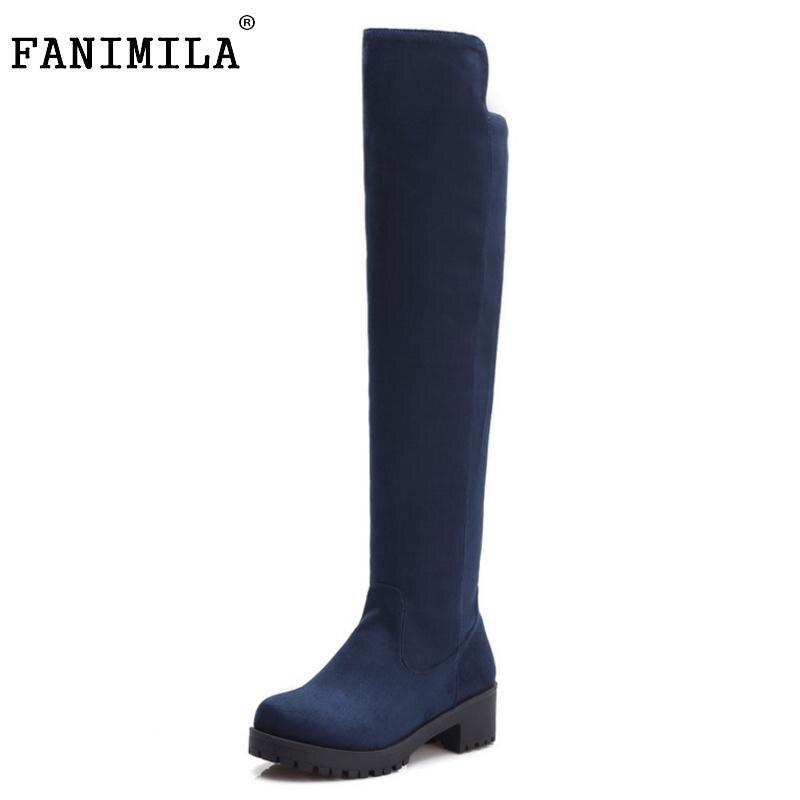 430afce7fff74 Rozmiar 34-45 kobiety zakolanówki buty botas szpilki motocyklowe moda długo  startowe ciepłe zimowe jakości obuwia obcasy buty P22150