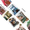 3.5cm*7m coffee shop washi tape DIY decorative scrapbooking planner masking tape adhesive tape kawaii stationery