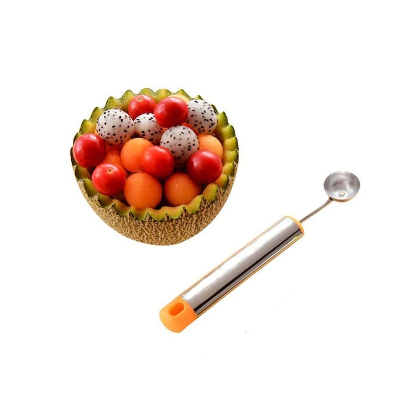 Творческий Мороженое своими руками совок для мячей Ложка Baller DIY Ассорти Холодных Блюд инструмент инструменты для карвинга ложка для фруктов Кухня Gadge