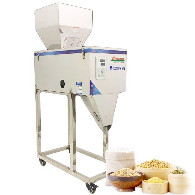 20-3000g Type Vertical Commercial avec commutateur au pied emballeur automatique poudre haricots matériel Machine à emballer grande Machine de remplissage
