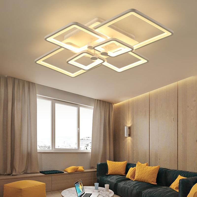 Diy Acryl Led Deckenleuchte Moderne Wohnzimmer Deckenbeleuchtung