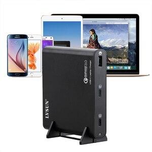 Image 1 - LVSUN 87W Universal QC3.0 Charger USB C Laptop Adapter 2 Ports PD3.0 Quick Charger 12V/15V/16V/18V/19V/20V Notebook Power Supply