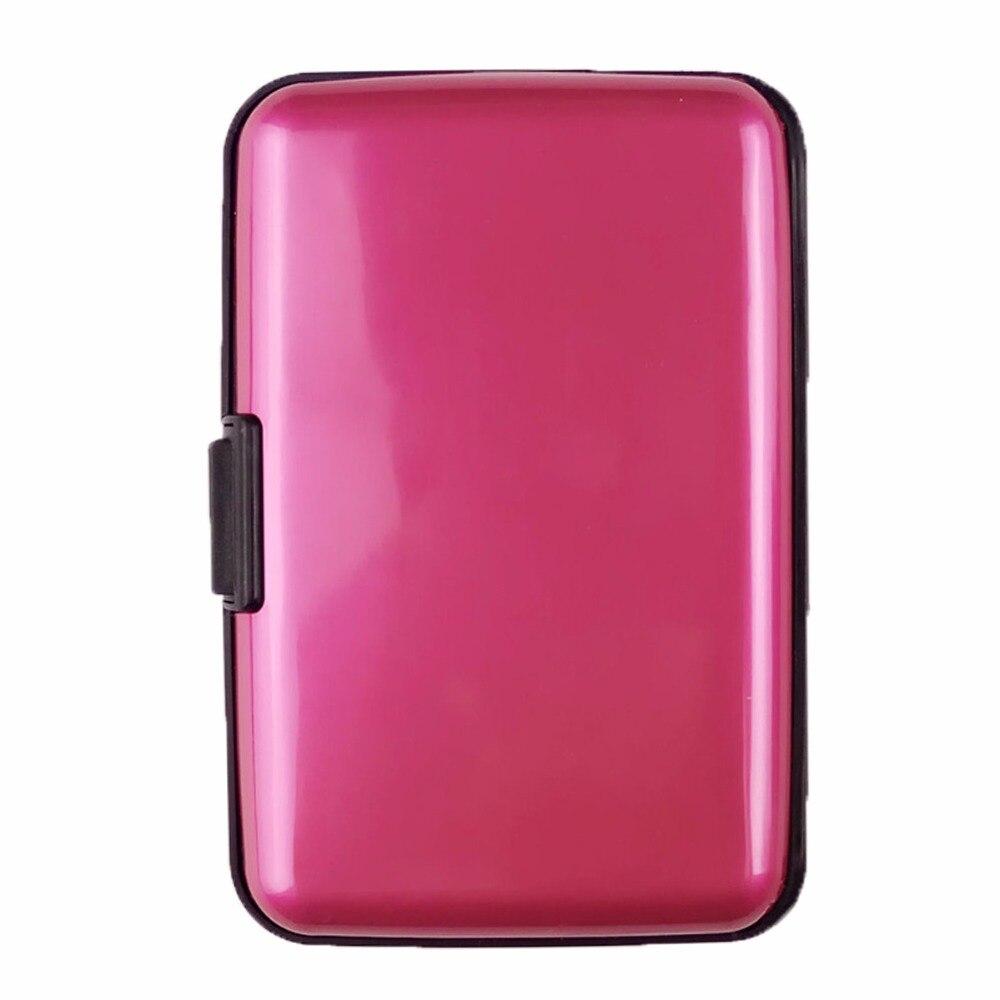 Plastic Pure Bright Color Multiple Layers Credit VIP Card Storage Bag Case Folder Holder