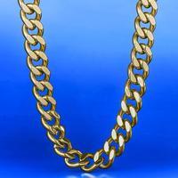 Mens cuban miami link Cuban Necklace Gold Chain Stainless Steel Cuban 12mm Hip Hop Necklace for men women hip hop link wholesale