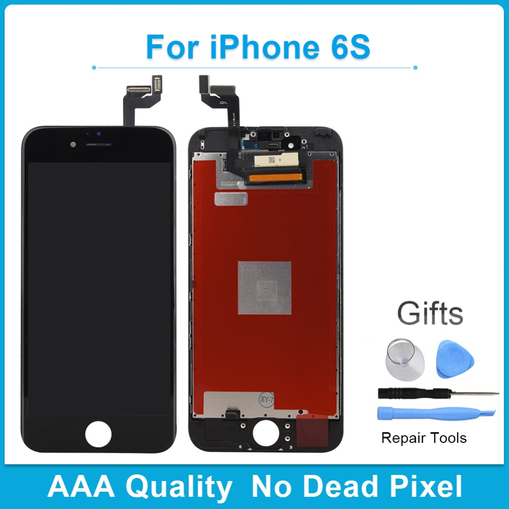 Khisol AAA Grade 100% No Dead Pixel Screen For iPhone 6s Spare LCD Display With 3D Force Touch Screen Digitizer Frame Assembly image