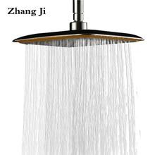 """Zhangji 8 """"Ванная комната функциональные осадков Насадки для душа площадь большая ручной душ с ручкой амфибия Ванны душ ZJ047"""