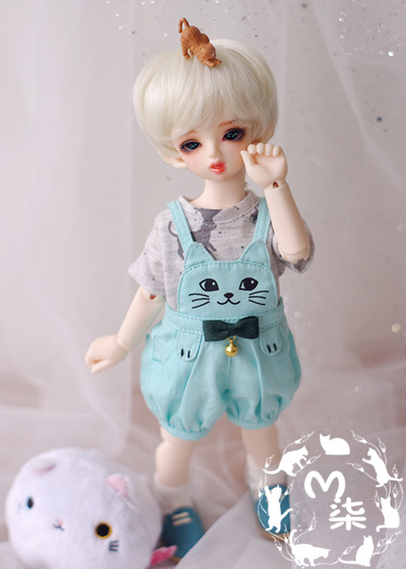 1/6 YOSD BJD SD Doll accessories Bjd clothes overalls
