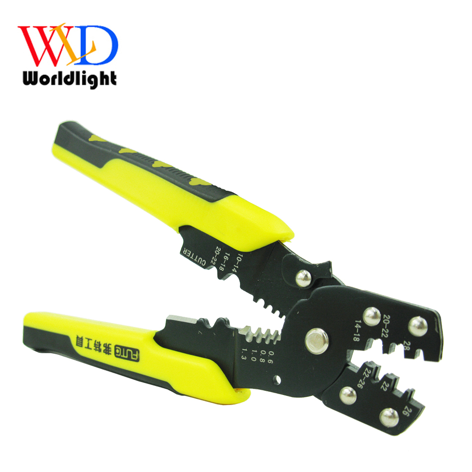 Multi Tool Pliers Crimping Pliers Wire Stripper Multi Functional Snap Ring Terminals Crimpper(China)