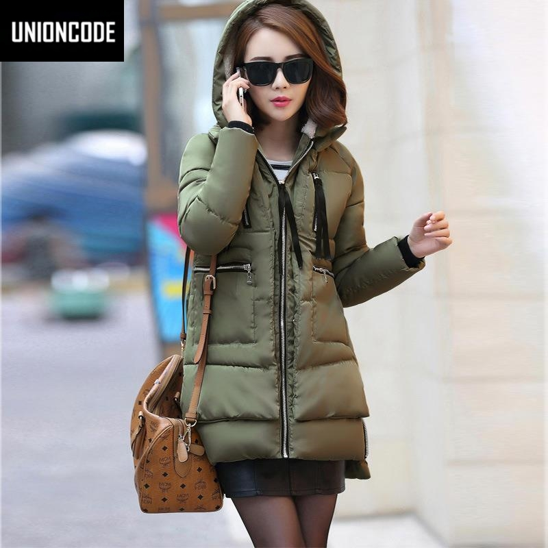 New 2017 Winter Women Wadded Jacket Red Female Outerwear Full Size 5XL Thickening Casual Down Cotton Wadded Coat Women Parkas women winter down jacket coat wadded jacket middle age women thickening outerwear female down coat vestidos