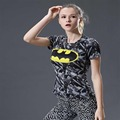 Superman VS Batman Compression Shirt 3D Printed T shirt Women Novelty Short Sleeve Crossfit Tops Female Cosplay Costume For Lady