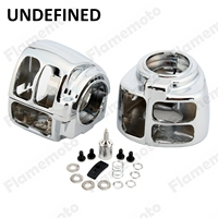 Motorcycle Bike Parts Chrome Handlebar Switch Housing Cover For Harley Sportster Iron 883 1200 XL 2014