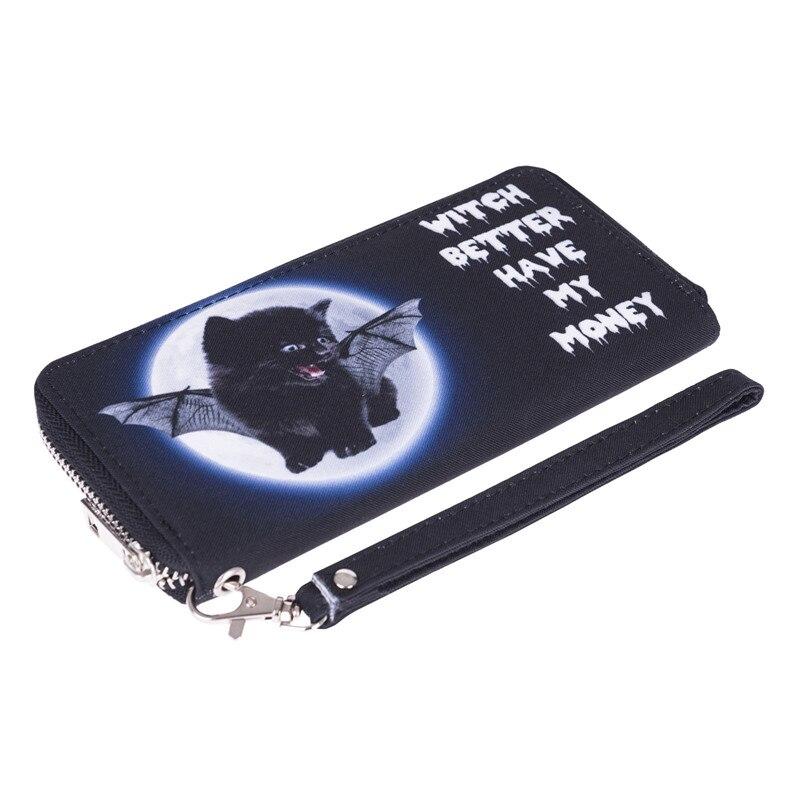 impressão carteira zíper embreagens carteiras Material Principal : Poliéster