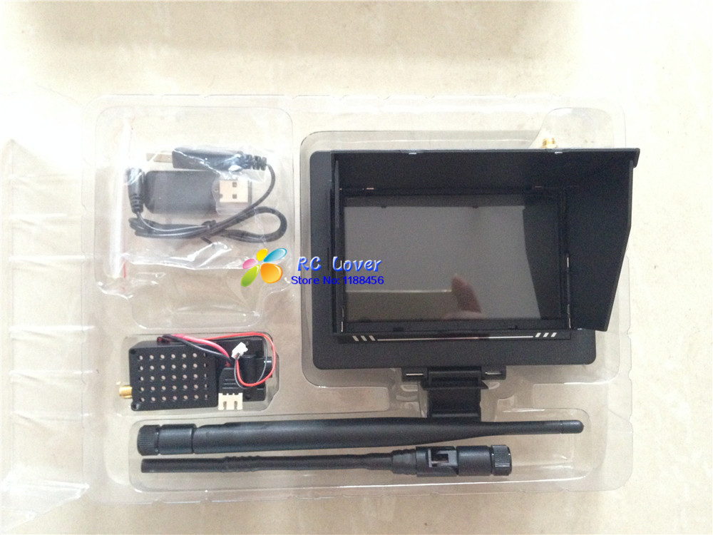 Фото WLtoys V666 Camera and Monitor for WLtoys V666 / V666N / V393 RC Quadcopter Spare Parts  V666-FPV Free shipping