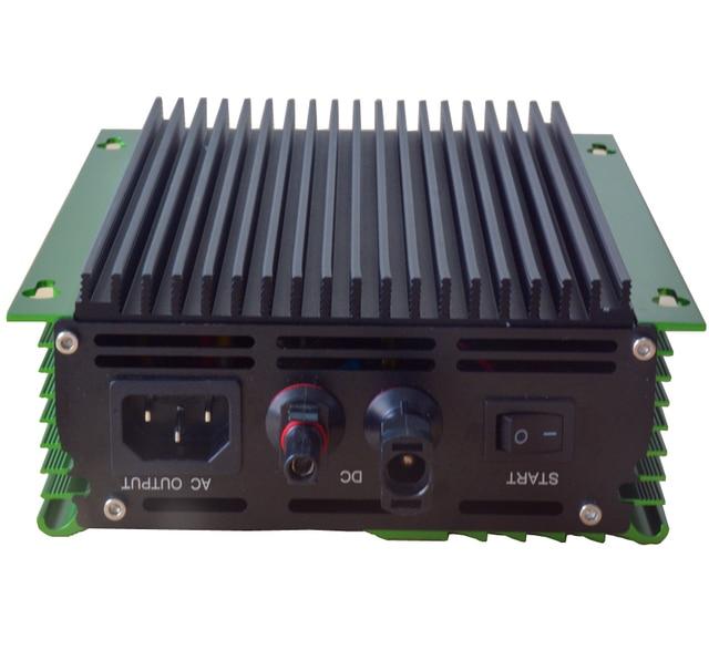600w Grid Tie inverter high quality  PV-Voc input 26V-45V solar inverter dc to ac 120V or AC220V 50HZ or 60Hz For 24V battery