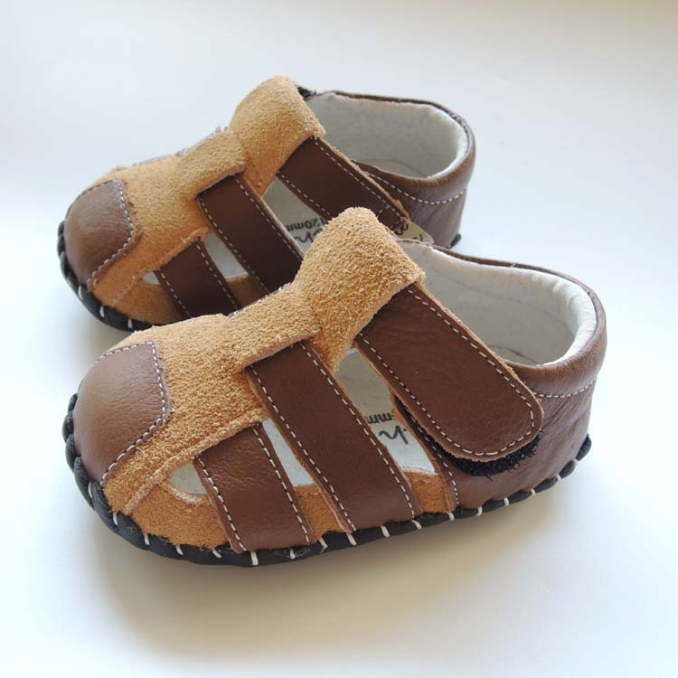 OMN Summer Style Soft-soled Indoor Genuine Leather Infant Shoes Baby Boys Girls First Walkers  Newborn Shoes  Baby Moccasins