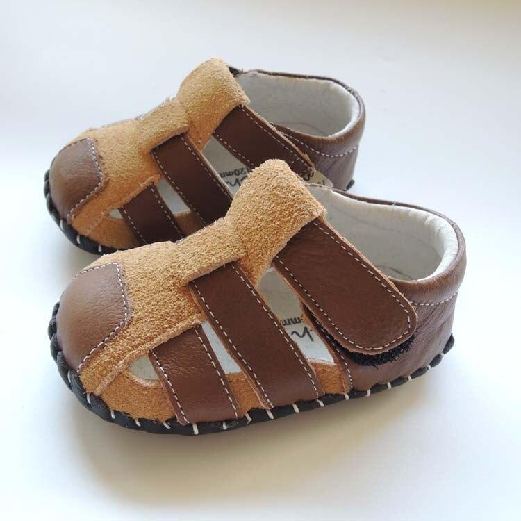 omn verao estilo soft sola interior de couro genuino calcados infantis do bebe das meninas dos