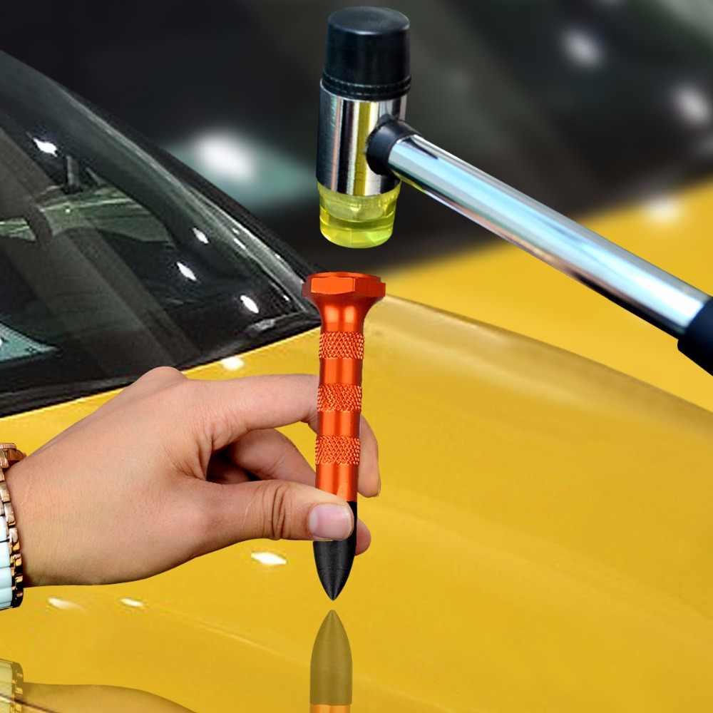 Pdr Afvlakking Pen Met 5 Pcs Hoofden Tap Down Pen Auto Body Dent Verwijderen Deuken Tool Auto Verveloos Dent Repair удаление Вмятин