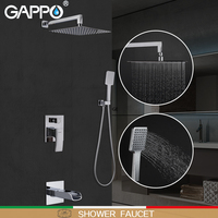 GAPPO shower faucets bath shower faucet bathroom shower set faucet bath head shower panel bathroom waterfall faucet bath