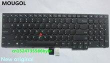 MOUGOL New Original US Keyboard for Lenovo Thinkpad E550 E550C E555 E560 E565 series FRU 00HN000 00HN037 00HN074 PN SN20F22537