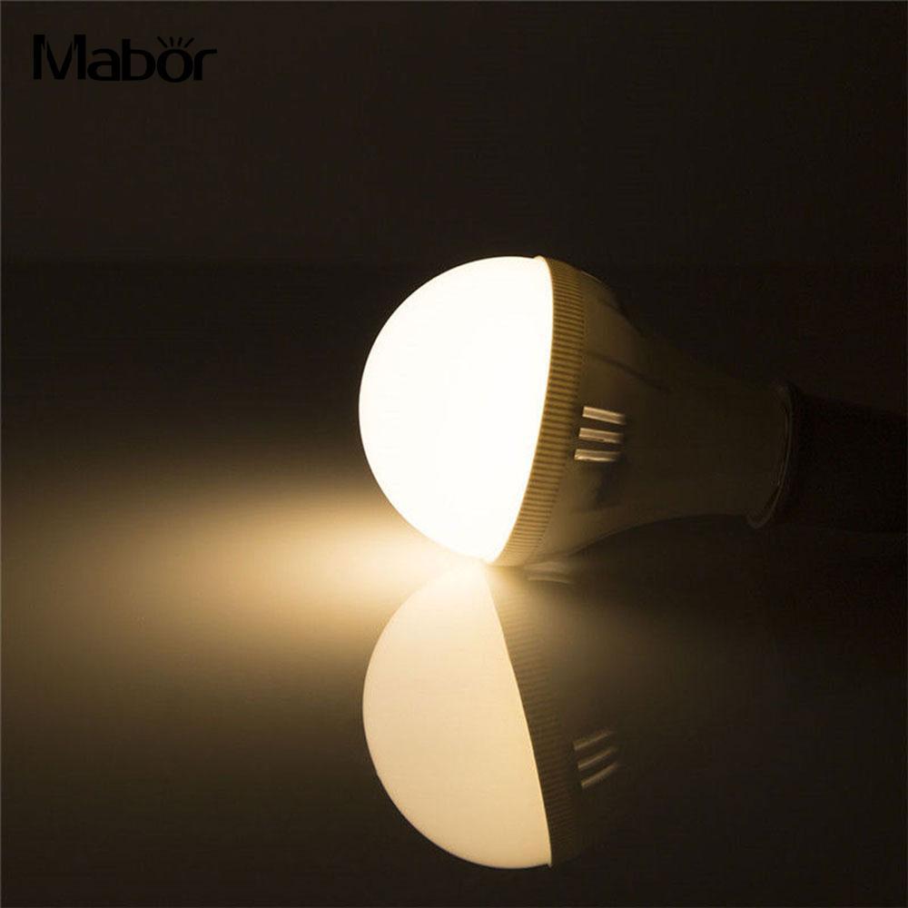 E27 AC 220V 7W Light Bulb 5730 Energy Saving Emergency Lamp LED Bulb Indoor Outdoor Lighting Fixture