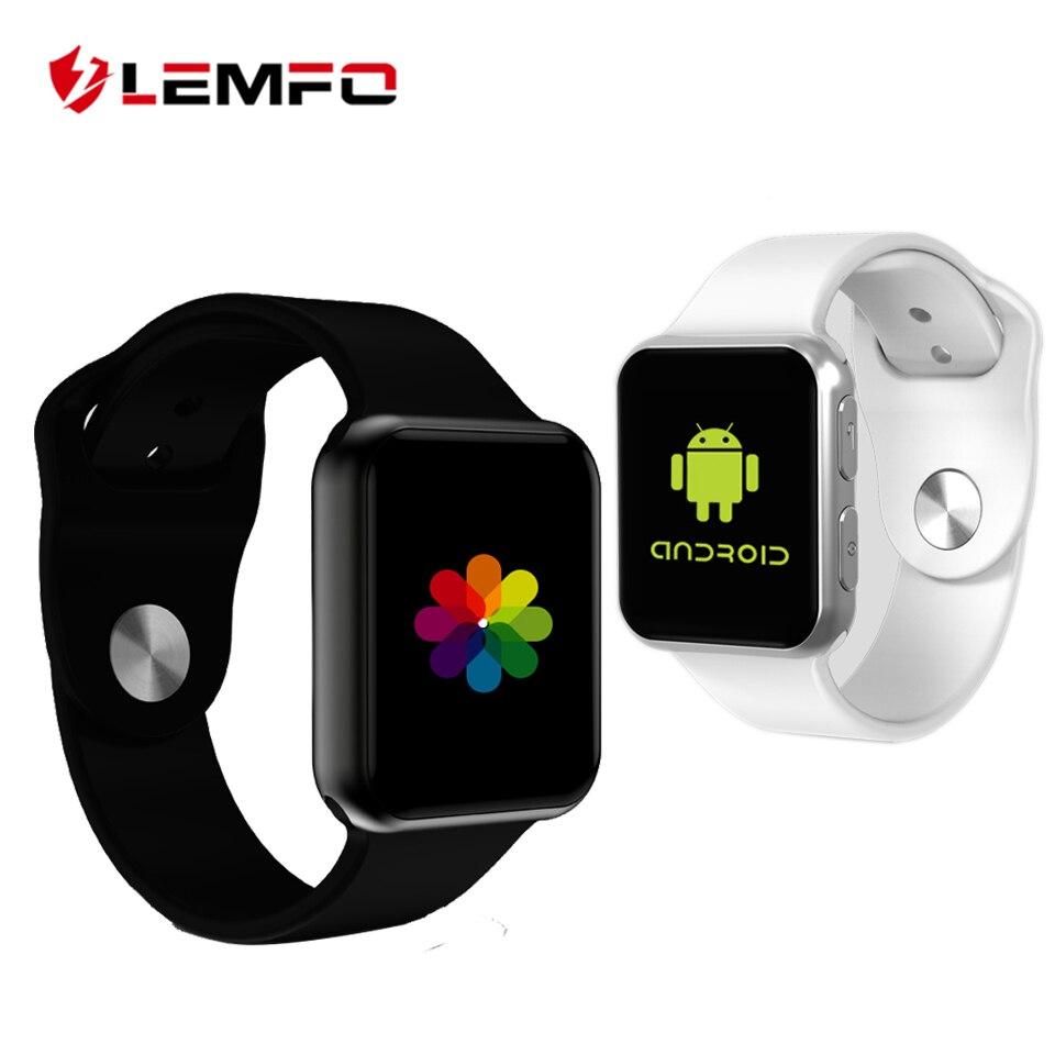 LEMFO Smart Watch Men support Bluetooth Call G-sensor Color TFT Screen Smartwatch Heart rate for Android iOS PK Apple Watch стоимость