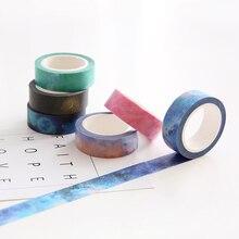 7 pcs Lot Dream paper masking stickers Japanese washi tape 15mm 8m decorative scotch tapes Stationery