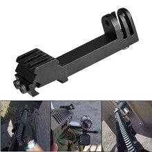 حامل كاميرا Airsoft Picatinny ، حامل بندقية ، سكة بندقية ، حامل لـ Gopro Hero 8 7 6 5 Black SJCAM Xiaomi Yi