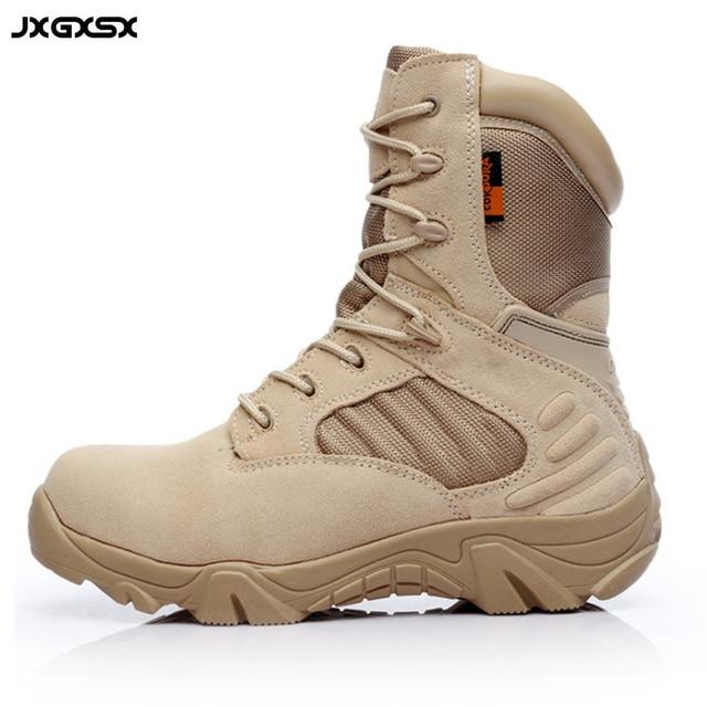 c7b7b180 JSGXSX zima na zewnątrz podróży buty wojskowe siły specjalne buty wojskowe  szturmowe buty taktyczne odzież oddychająca