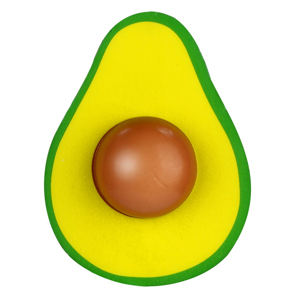 Cartoon Squish Toys Simulated Avocado Slow Rising Cream Scented Squeeze Stress Relief Toys Squishy  Squeeze Novelty W508