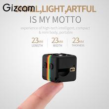 Gizcam Portátil 2MP Full HD 1080 P Night Vision Mini Câmera Pequena Micro Gravador De Vídeo Cam DV DVR Câmera de Vídeo não incluir o cartão do TF