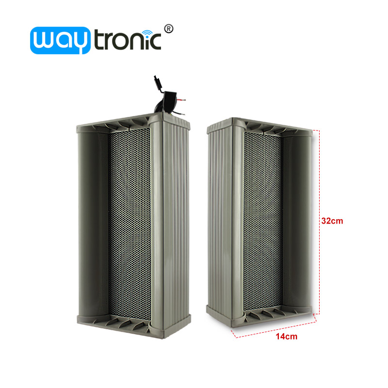 Microwave Detecting Outdoor Amplifier Speaker Fire Public Broadcasting Loudspeaker with USB Connector Loud Voice