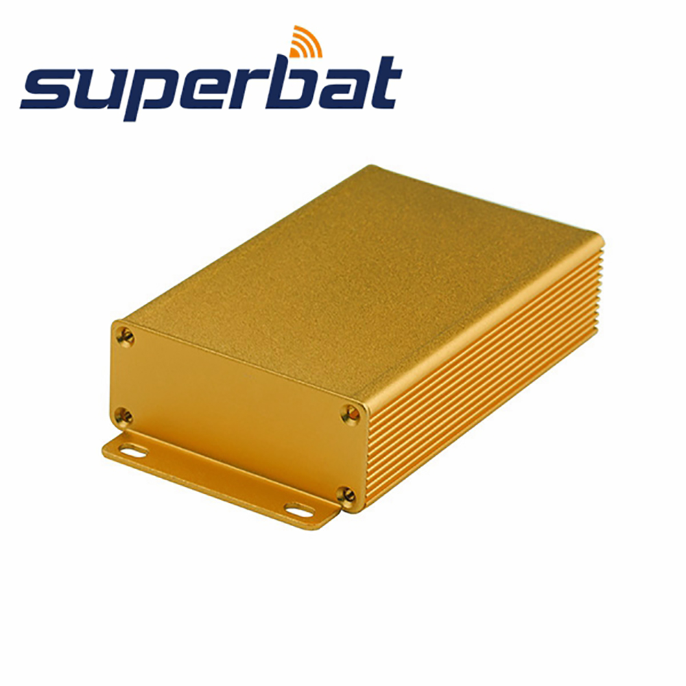 3.94″*2.60″*1.06″ Aluminum Enclosure Golden Color Case for Electronic Project Amplifier PCB Junction Box 100*66*27MM(L*W*H )
