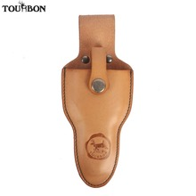 Tourbon Genuine Leather Pliers Sheath Holder Tool Holsters Belt Pouch for Pruning Shears